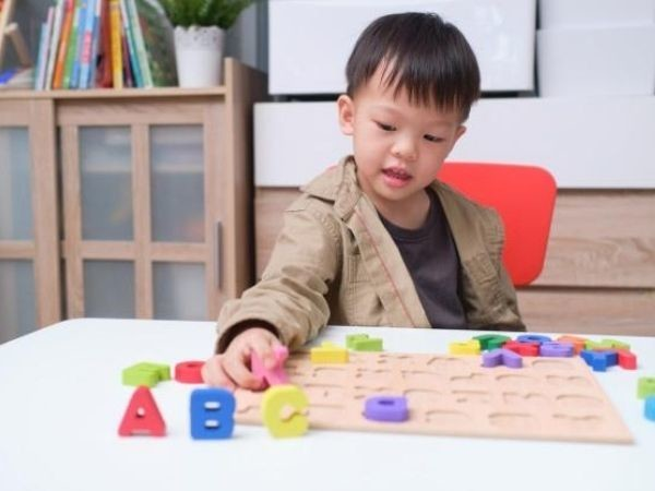Teaching The Letters of the Alphabet