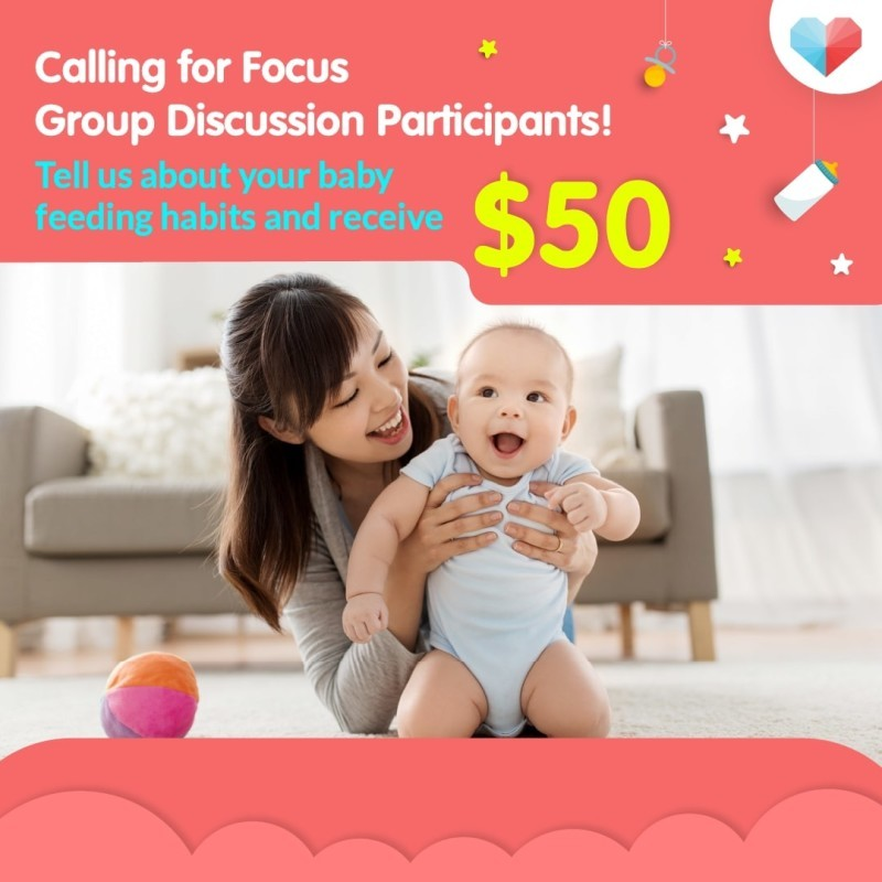 Join our Focus Group Discussion and receive $50 worth of prizes!!!