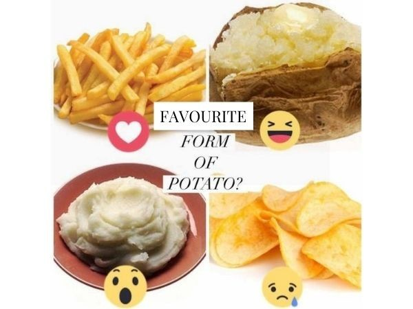 What is your favourite form of potato?